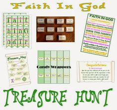 Just in time for St. Patrick's Day, a Faith In God Treasure Hunt!      This is a fun way to teach and review the Faith In God requiremen...