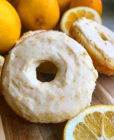 Keto lemon poundcake donuts - KetoDietForHealth - Düşük karbonhidrat yemekleri - Las recetas más prácticas y fáciles Low Carb Sweets, Low Carb Desserts, Low Carb Recipes, Low Carb High Fat, Low Carb Diet, Keto Foods, Keto Snacks, 7 Keto, Fast Foods