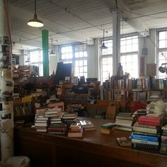 The Shire Book Shop, Franklin, MA... Located in a turn-of-the-century mill building where the owners encourage you to leaf through books at your leisure while enjoying a free cup of tea—it doesn't get much more delightful than that!