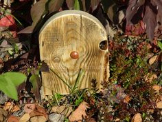 These Magical Wooden Faerie Doors can be placed outside in your garden or leaning up against a wall inside your house. Each door is hand drawn out on recycled, untreated wood and then cut and sanded into shape. They are made to be outdoors so they are able to stand up to the elements. Doors come ...