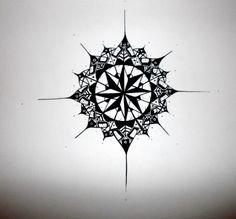 Compass Tattoo Design 2 by emeza.deviantart.com on @deviantART