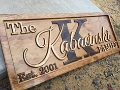 Personalized Last Name Sign Family Established Sign Wood Gifts Personalized Wood Sign Custom Wood Sign Couples Gift Home Rustic Wall Decor