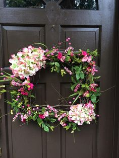 Square Wreath, Front Door Decor, Entry Way Wreath, Square Grapevine, Wreath