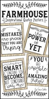 Home Interior Salas Farmhouse Style Classroom Inspirational Posters The Power of Yet Mistakes are proof that you are trying.Home Interior Salas Farmhouse Style Classroom Inspirational Posters The Power of Yet Mistakes are proof that you are trying Classroom Signs, Classroom Freebies, Music Classroom, Classroom Themes, Classroom Organization, Quotes For The Classroom, Printable Classroom Posters, Teacher Posters, Classroom Management