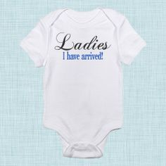Ladies I Have Arrived, Baby Boy Clothes, New Baby Take Home Outfit, Newborn Boy