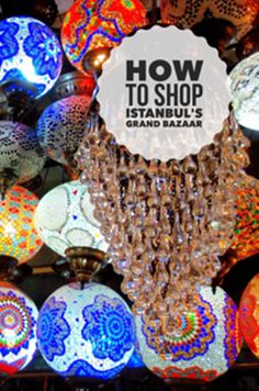 How to shop[ Istanbul's Brand Bazaar Pin