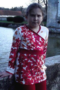 Robe Princess Castle transformé en tunique