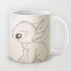 Lilo and Stitch Mug by Elyse Notarianni