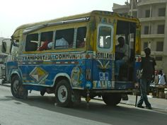 Senegal, Dakar, bus www. Senegal Africa, West Africa, What Is Geography, Travel Around The World, Around The Worlds, Casamance, African Culture, Grade 2, Yachts