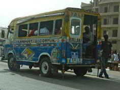 Senegal, Dakar, bus