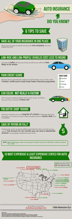 http://autoinsuranceape.com/cheap-auto-insurance/infographic-6-tips-to-save-on-auto-insurance/  Infographic: 6 Tips to Save on Auto Insurance