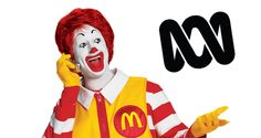 Allowing the ABC to run ads would siphon profits out of free-to-air TV networks and lead to an overall lower price per ad slot, even for newspapers. Free To Air, Tvs, Ronald Mcdonald, Commercial, Tv