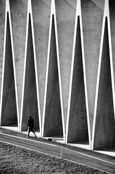 Sports Centre Mülimatt by Livio Vacchini #architecture