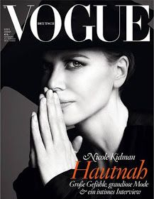 Über Fashion Marketing: Nicole Kidman em 2 capas da Vogue Alemanha de Agosto