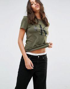 Calvin Klein – Logo-T-Shirt