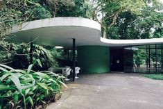 Casa Das Canoas. Oscar Niemeyer, 1951