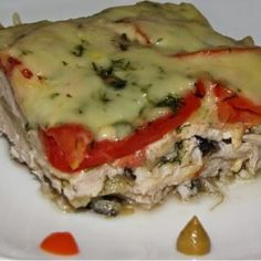 CHICKEN CASSEROLE. Recipes with photos.