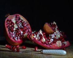 :: Pomegranate ~ A Photographer's Eye {by Hiraeth Crafts . . https://www.etsy.com/uk/shop/HiraethCraftsWales} •