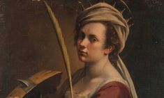 The rare Self-Portrait as Saint Catherine of Alexandria (c. by Artemisia Gentileschi made headlines early last year when London's National Gallery Artemisia Gentileschi, Baroque, St Catherine Of Alexandria, The Last Judgment, Italian Paintings, Call Art, Art Uk, Oeuvre D'art, Contemporary Artists