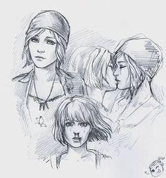Chloe and Max lineart https://nastyakulakovskaya.deviantart.com/