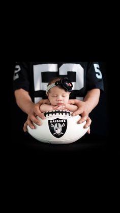 Raiders newborn baby