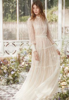 The Whitethorn Gown in Champagne / Pink. Make this gown your new season staple. Sequin Midi Dress, Sequin Gown, Mesh Dress, Afro, Bridal Gowns, Wedding Dresses, Lace Wedding, Lace Dresses, Body Hugging Dress