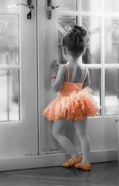 É isso mesmo que eu quero...ser bailarina!