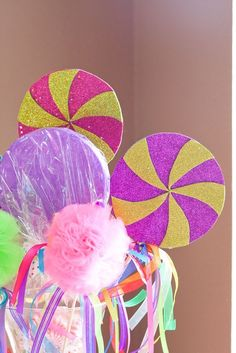candy land, cute decorations