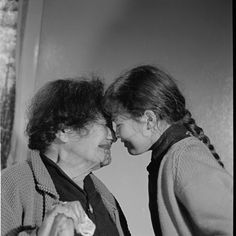 Ngaropi White and Alla, from photographer Allan Baldwin's collection of Maori kuia with moko taken in the Photo / Allan Baldwin Once Were Warriors, John Miller, Long White Cloud, New Zealand, Robin, Portrait, Couple Photos, News, 1960s