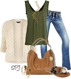 """Floral Honey"" by s-p-j ❤ liked on Polyvore"