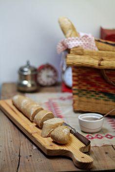 Hoje para jantar ...: Baguette integral - World Bread Day 2015