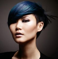Model Gwen Lu Love the hair!