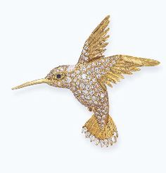A DIAMOND BROOCH, BY VAN CLEEF & ARPELS