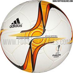8fe43b71f Adidas Europa League 15-16 Ball - New Europa League Logo Leaked - Footy  Headlines