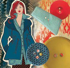 Initiatique Trail umreißt die modische Relevanz des kernigen Mix & Match. #mode #retail #handel #knöpfe #unionknopf #trends