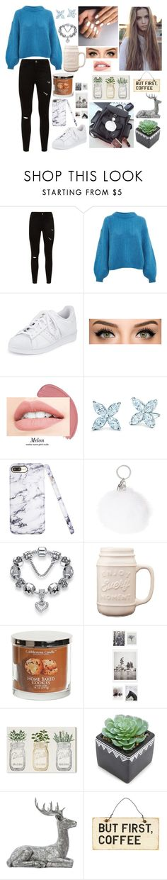 """Sasha Chistova"" by polyvorebiglover ❤ liked on Polyvore featuring Topshop, adidas, DENY Designs, Oliver Gal Artist Co. and Forever 21"