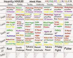 Max pdf insanity 30 meal plan