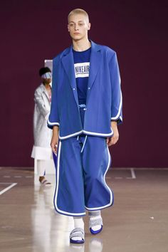 Pigalle Menswear Collection SS18 Paris show. Zippertravel.