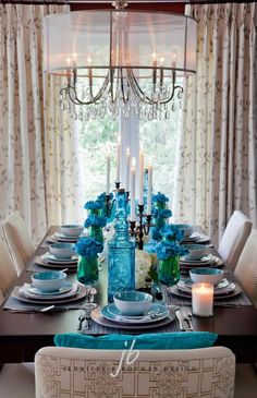 #Turquoise #Interiors  Turquoise Home #Decor by Selkie~gal