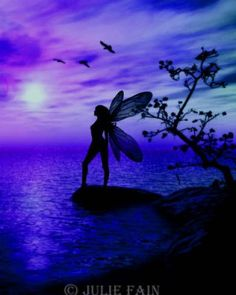 Tranquility - ©Julie Fain(blue purple)