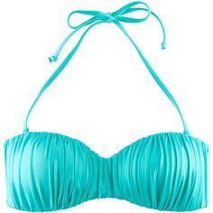 H Bikini top ($20) ❤ liked on Polyvore
