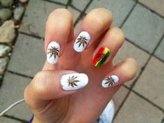 Weed leaf nail stickers, decals and charms from ShopStayWild #nails #weed nails #love #home #ideas #things #idea #marijuana #cannabis #stoned #high #cannabiscures #legalize #420 #710 #wax #shatter #glass #vape #style #ideas #ganja #kush #cbd #bath #smok