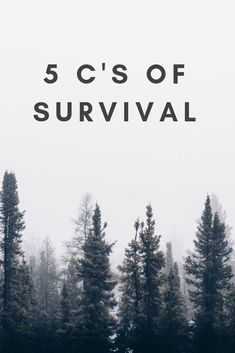 Don't be left unprepared the next time you are out adventuring, hiking, camping or any other activity that can leave you needing to survive. The 5 C's give you everything you need in a survival situation.
