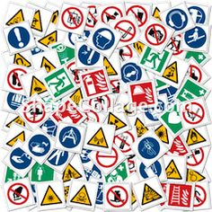 Ready to use Safety and other signs available on CD-ROM or downloadable directly from website, over 10,000 available at this time...
