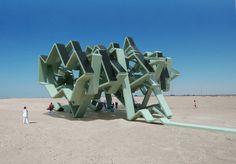 The Solar Energy Field by Michael Jantzen