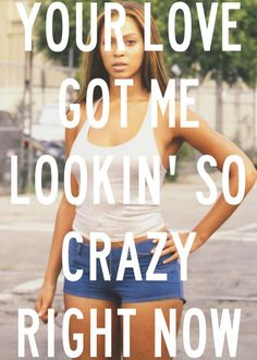 """Crazy In Love,"" Beyonce ft. Jay-Z lyrics One of my many favorite songs! Beyonce Songs, Beyonce Quotes, Jay Z Lyrics, Music Lyrics, Blue Ivy Carter, Mrs Carter, Music Is Life, My Music, Movies"