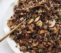 Wild Rice. Made 9/21 and tasty. Similar to boxed wild rice but nice to make it myself w/ fresh ingredients.