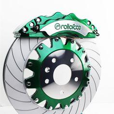Green. #brakes #bbk #bigbrakekit #candy #rolloface Brake Calipers, Pickup Trucks, Old Cars, Concept Cars, Cars And Motorcycles, Watermelon, Wheels, Bmw, Autos