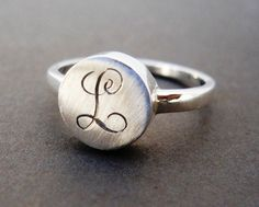 Monogram+ring+for+Amanda+by+hellothula+on+Etsy,+$68.00