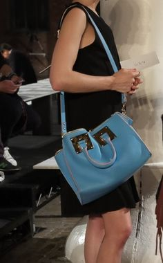 6655158e98 I m obsessed with the colour blue and this handbag is a pretty blue colour